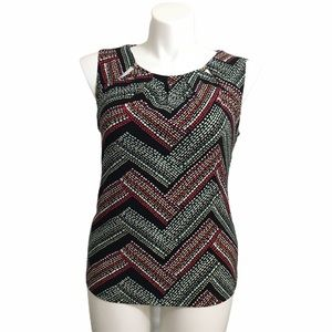 Tommy Hilfiger sleeveless knit top. Sz large
